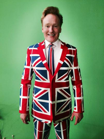 conan in union jack suit
